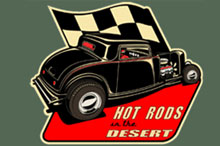 Hotrods in the Desert